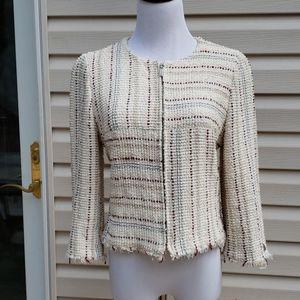 Chanel Tweed Blazer Jacket